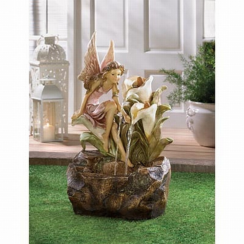 enchanting fairy fountain