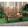 Western Themed Garden Bench