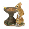 Adorable Bunnies Birdfeeder