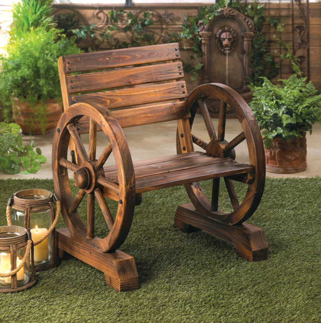 Western Style Wood Chair