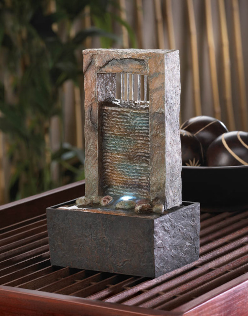Cascading Tabletop Water Fountain