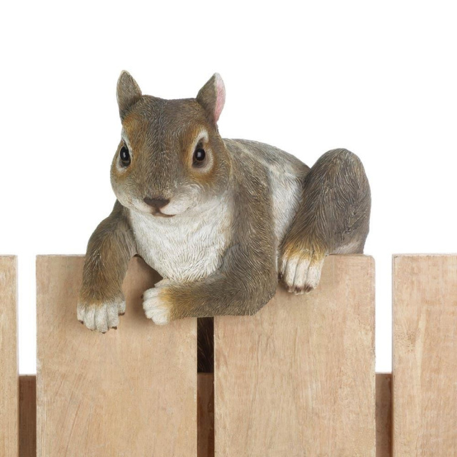 Climbing Squirrel Garden Decor Accent