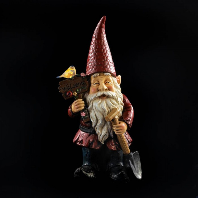 Welcome Gnome Garden Decor