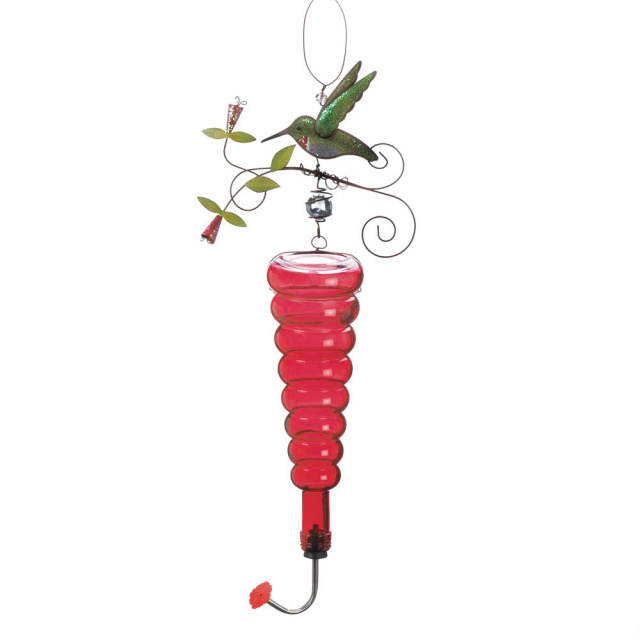 Whimsical Hummingbird Feeder