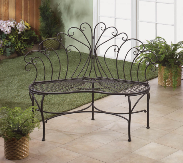 Elegant Patio Bench