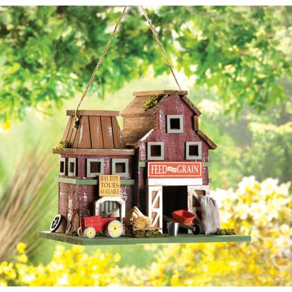 Farm Themed Birdhouse
