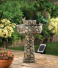 Cobblestone Water Fountain-Solar Powered