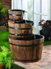 Enchanting Water Barrel Fountain