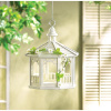 Elegant White Bird Feeder