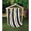Cotton Navy Blue Hanging Chair